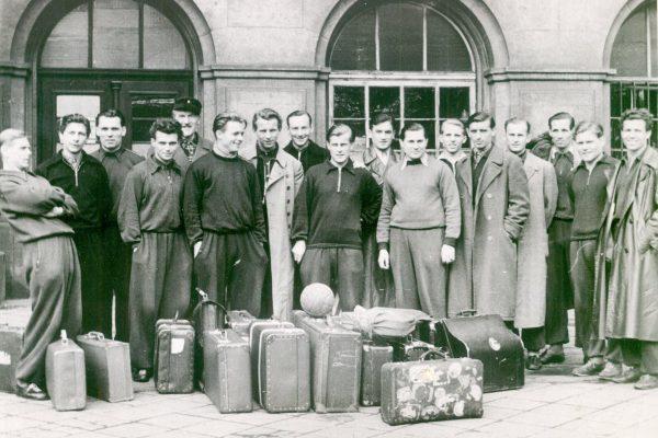 BSG Chemie Leipzig historisch 50er Jahre Fußball Leutzsch