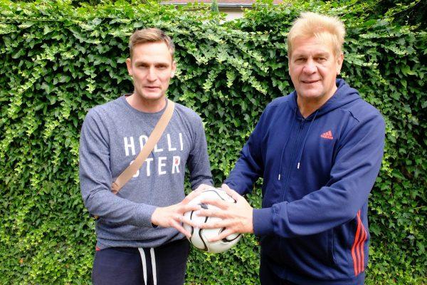16.7.2016 Fußball Interview mit Daniel und Uwe Ferl für SachsenSonntag Frühstück